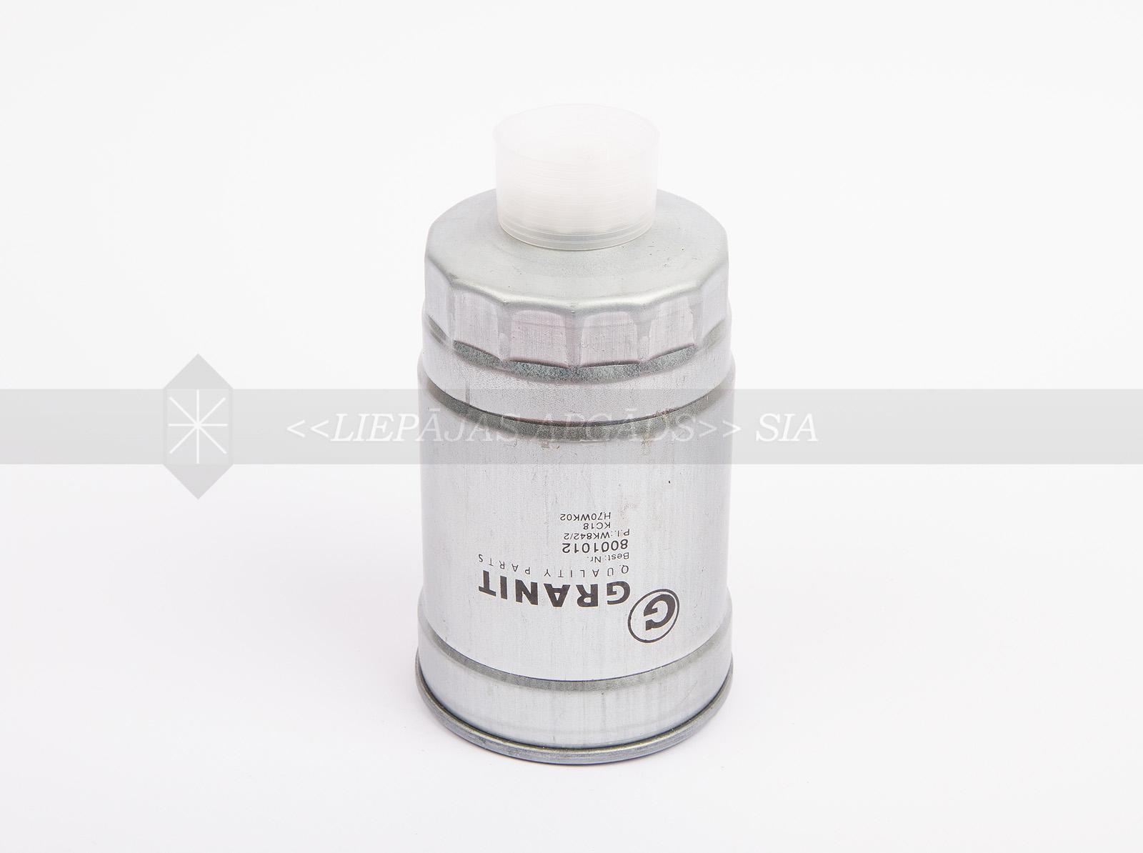 DEGVIELAS FILTRS GRANIT (WK842/2, P550248, FF5135)
